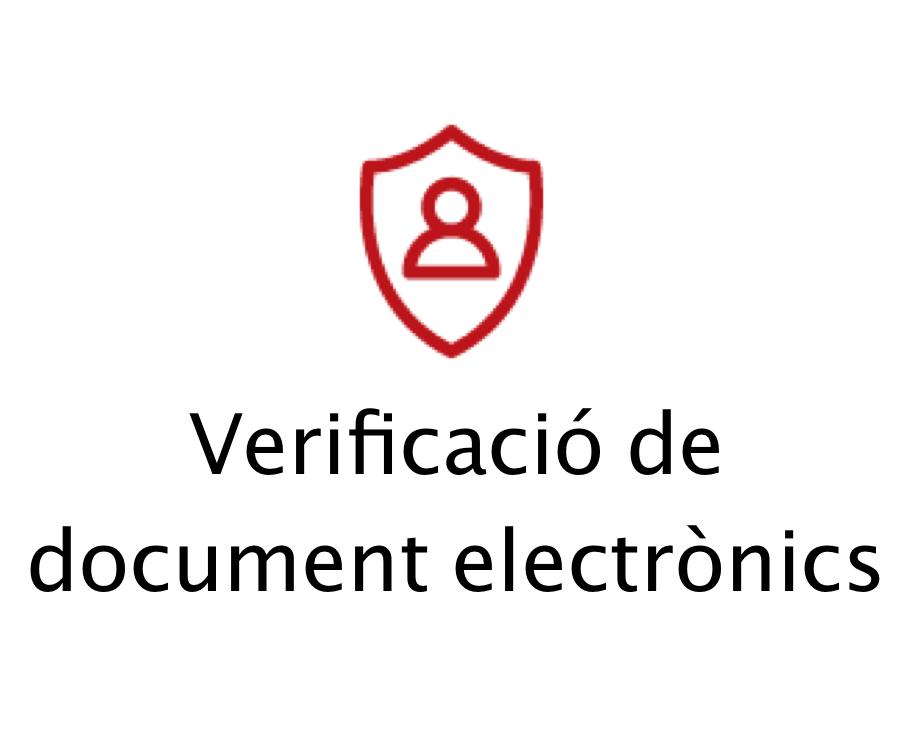 Verificacio document electrònics